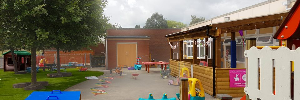Valley School Nursery playground