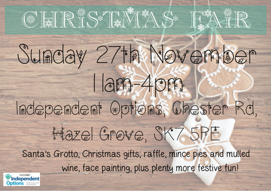 Independent Options Christmas Fair