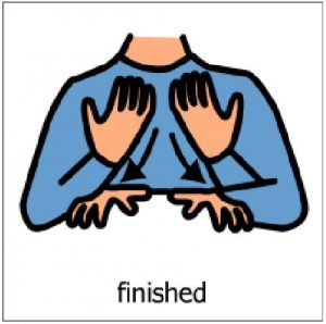 Finish makaton sign